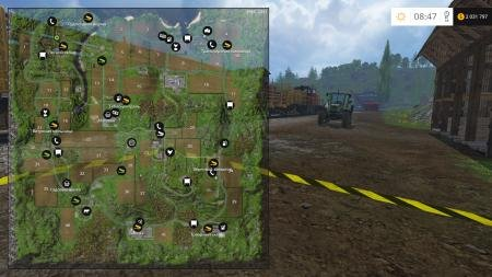��� ��������� ������� � Farming Simulator 2015