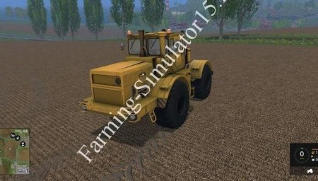 Мод трактора Кировец для Farming Simulator 15