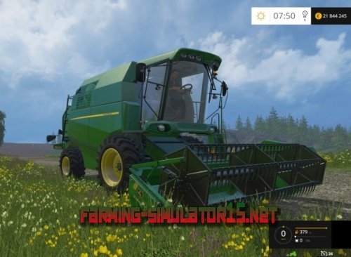 "Мод ""John Deere W330"" для Farming Simulator 2015"