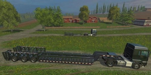 Мод TrailTech CT220TT & CT3200 для Farming Simulator 15