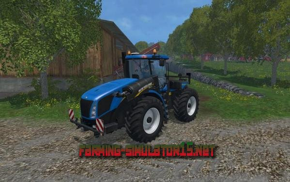 ��� NEW HOLLAND T9560 CHANGING TIRES V1.0 ��� Farming Simulator 2015