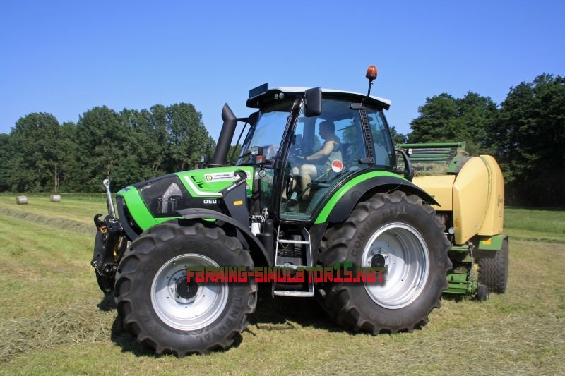 Мод Deutz Fahr TTV 430 v 1.0 для Farming Simulator 2015