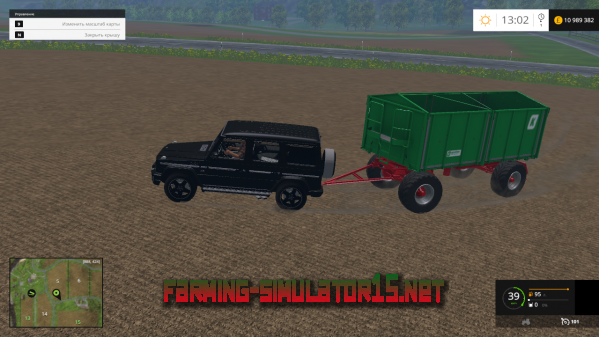 ��� MB G65 AMG ��� Farming Simulator 2015