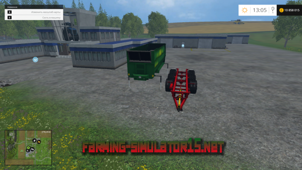 Мод Hawe WPS 32T CSW v2.0 для Farming Simulator 2015