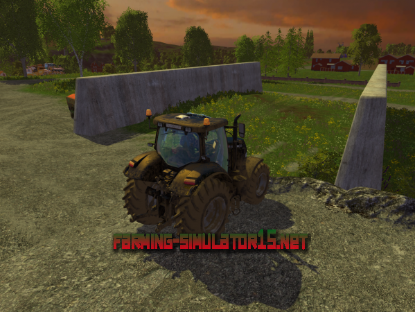 ��� Fahrsilo Placeable V 1.0 - ����� ������ ��� Farming Simulator 2015