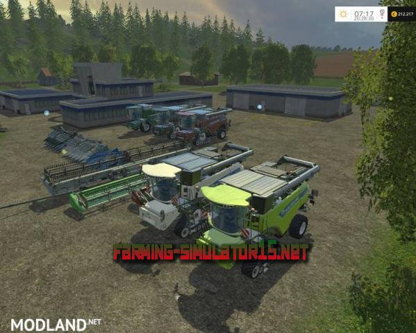 ��� New Holland Combine Pack ��� Farming Simulator 2015