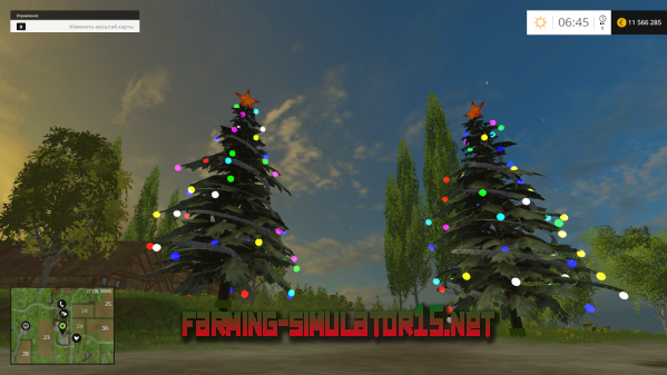 ��� Placeable Weihnachtsbaum v1.0 - ���������� ���� ��� Farming Simulator 2015