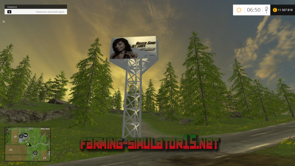 ��� Placeable Werbetafel v1.1 ��� Farming Simulator 2015
