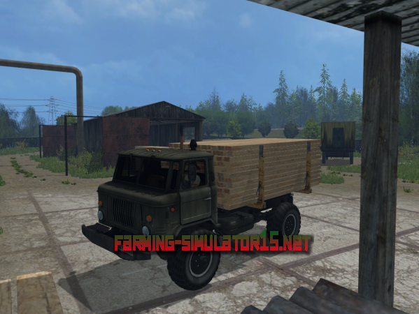 Мод ГАЗ 66 v 1.0 - Грузовик для Farming Simulator 2015