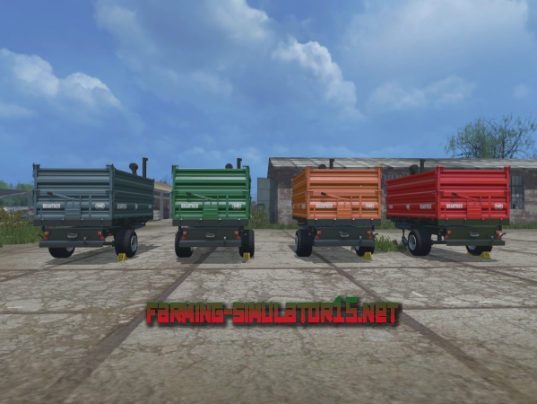 Мод Barntner XL Ülw v 2.2 - Прицепы для Farming Simulator 2015