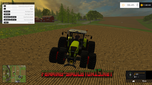 Мод Claas Arion 650 v1.0 для Farming Simulator 2015