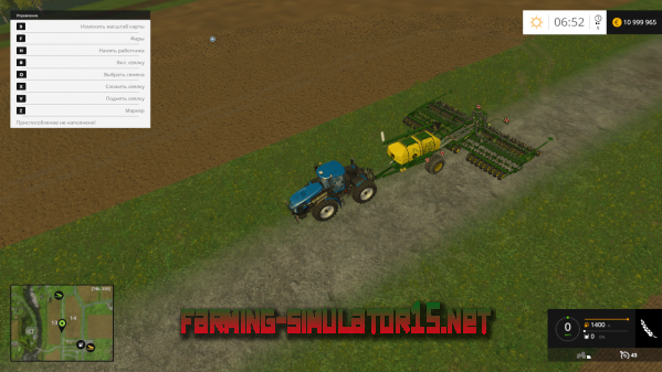 ��� John Deere AIR Seeder 12M ��� Farming Simulator 2015