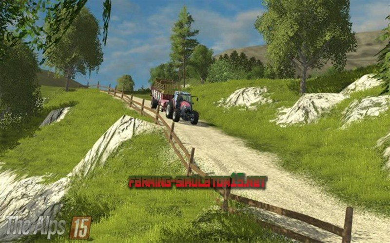 Мод Карты для Farming Simulator 2015