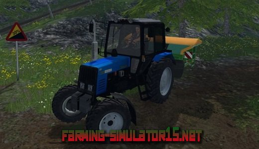 Мод Трактора для Farming Simulator 2016