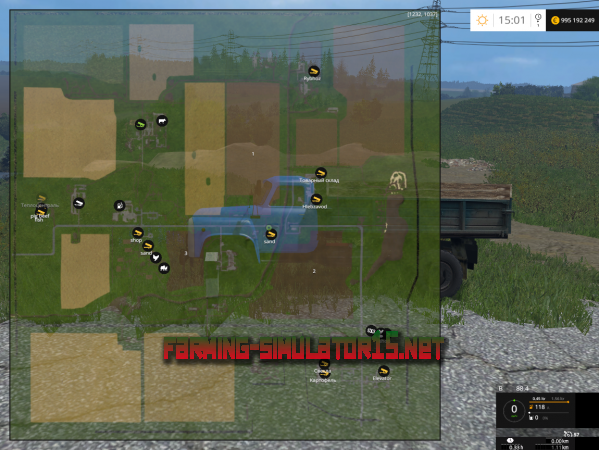��� ����� ���������� v 2.1 ��� Farming Simulator 2016