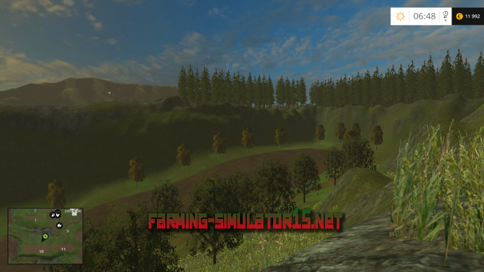 мод VIEILLE FRANCE V 2.0 для Farming Simulator 2015