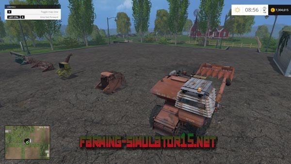 мод SK-5M Niva Pack v 2.0 для Farming Simulator 2015