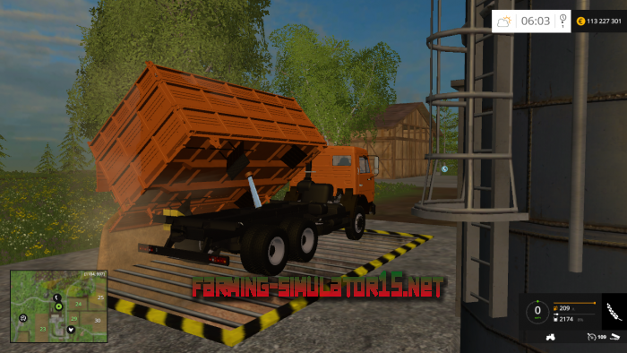 ��� KamAZ 45143 & Nefaz 8560 v 1.0 Edit ��� Farming Simulator 2015