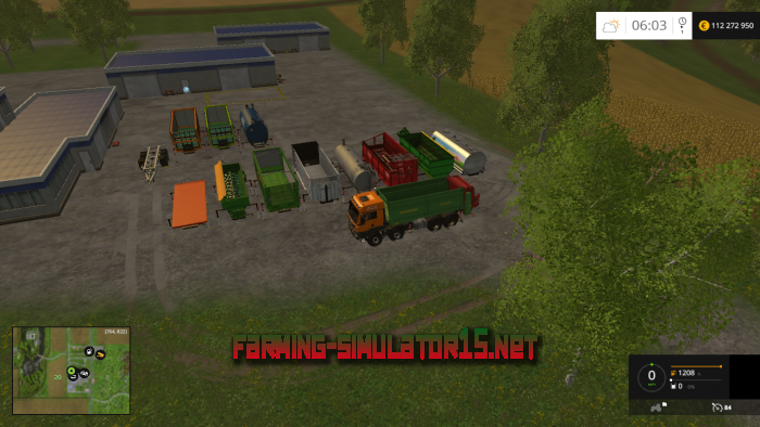 мод MAN AGRAR 8x8 Modules Pack v 3.0 для Farming Simulator 2015