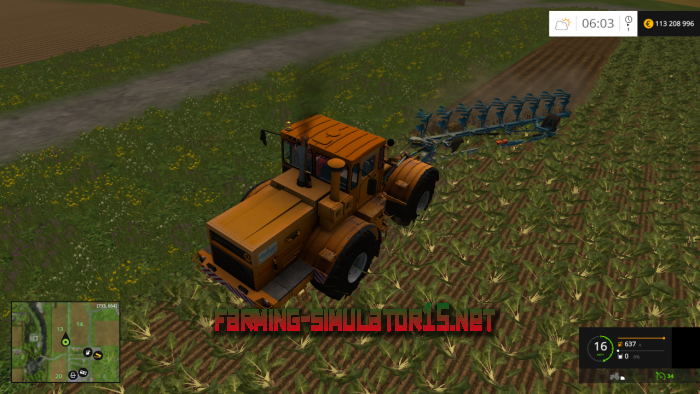 мод Kirovets K700A v 1.1 для Farming Simulator 2015
