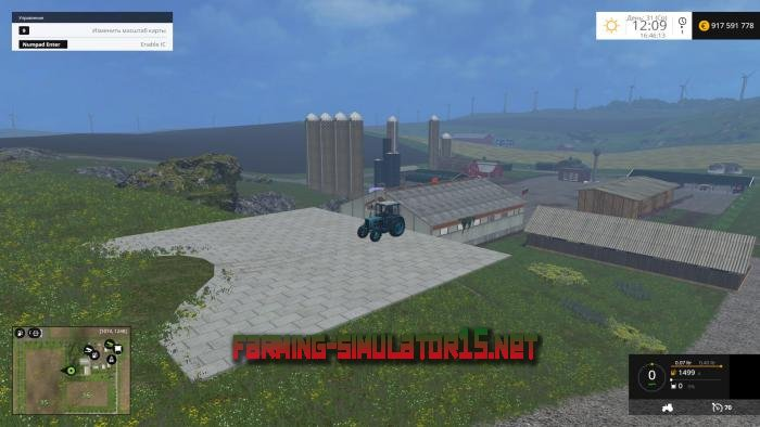 ��� �������� ����� Base Plate V 1.0 ��� Farming Simulator 2015