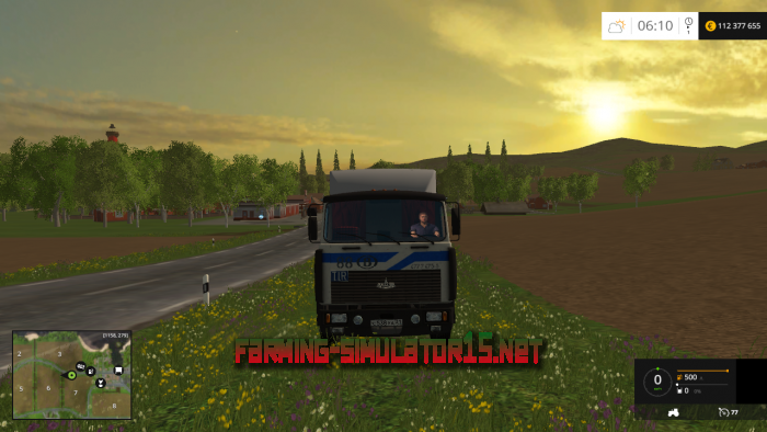 мод МАЗ 642208 для Farming Simulator 2016