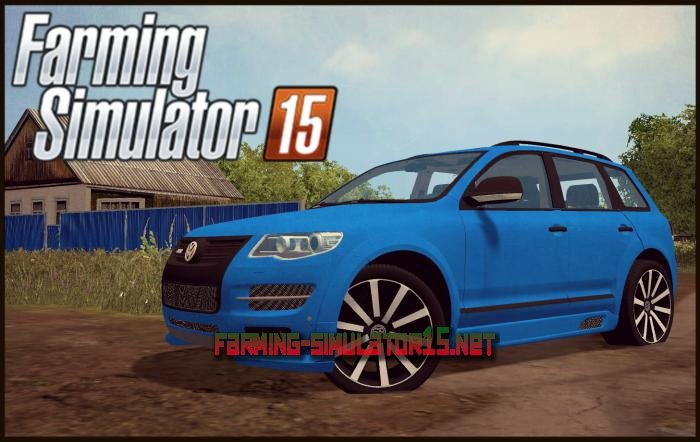 мод Volkswagen Touareg R50 2008 для Farming Simulator 2016