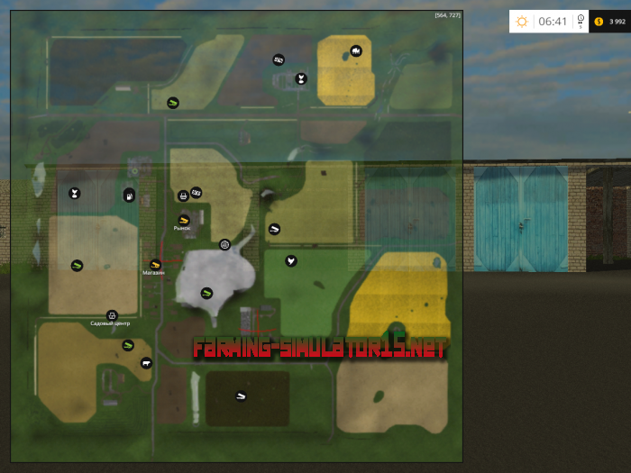 ��� ����� �������� v 1.0 ��� Farming Simulator 2016