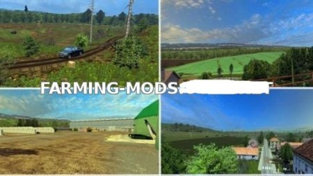 Czech Map для Farming Simulator 2015