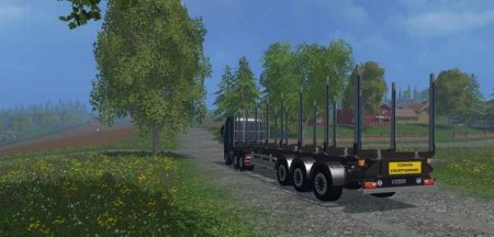 "Мод ""Fliegl Grume"" для Farming Simulator 2015"