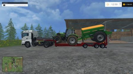 "Мод ""Kaiser Porte Engin Forestier"" для Farming Simulator 15"