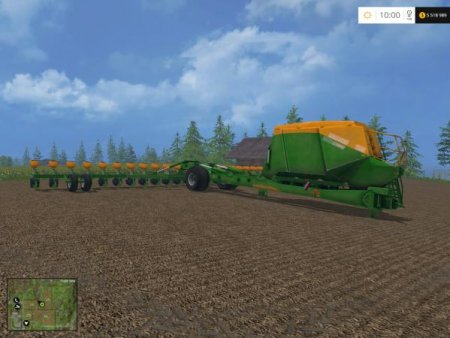 "Мод ""AMAZONE UX 5200"" для Farming Simulator 15"