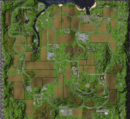 "Мод ""Sample Mod Map"" для Farming Simulator 2015"
