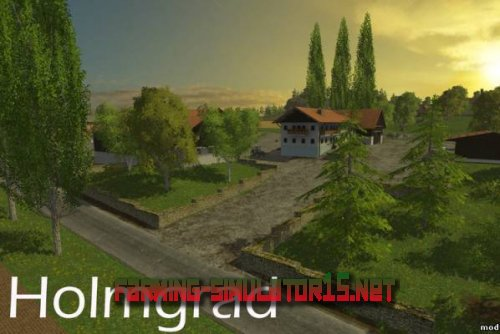 Карта Holmgard для Farming Simulator 2015