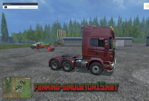 Тягач Scania для Farming Simulator 2015