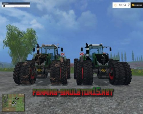 "Мод ""Fendt Vario 939 WSB PACK"" для Farming Simulator 15"