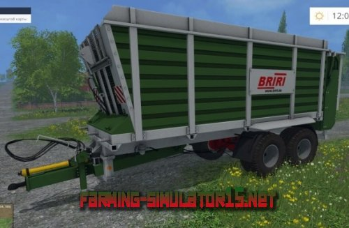"Мод ""Briri Silotrans 38"" для Farming Simulator 2015"