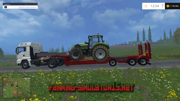Мод Kaiser Porte Engin Forestier v1.0 для Farming Simulator 2015
