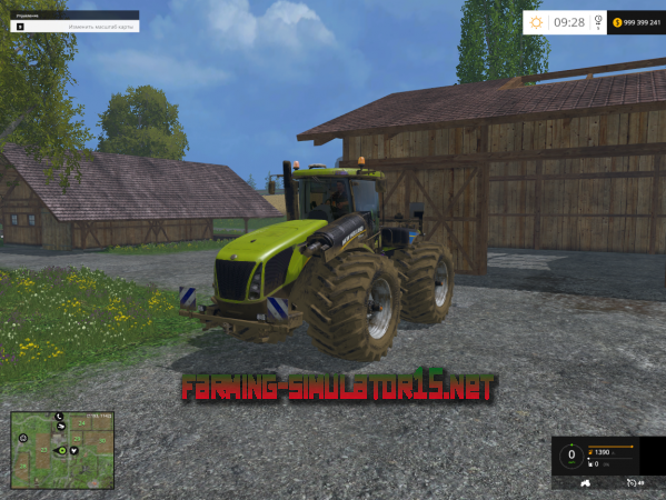 Мод Mod New Holland T9.565 v 1.1y для Farming Simulator 2015