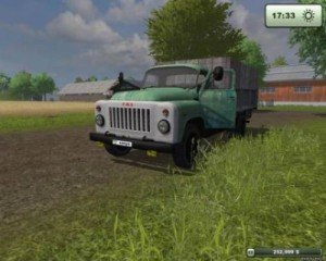Мод Газ 53 для Farming Simulator 2015