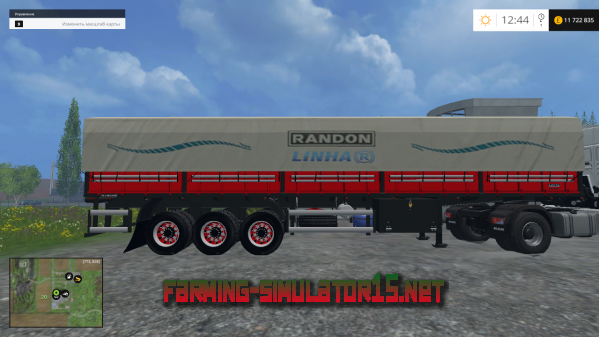 Мод GRAIN TRAILER RANDON LINE R для Farming Simulator 2015