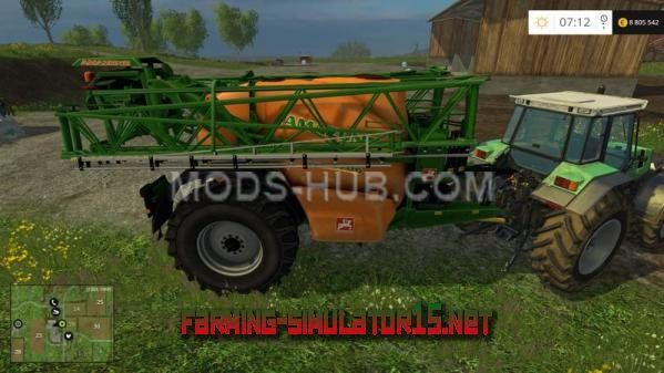 Мод Amazone UX 5200 v 0.99 для Farming Simulator 2015