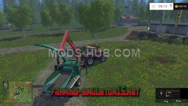Мод Мод Jenz wood chipper v 1.2 для Farming Simulator 2015