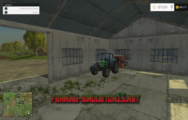 Мод Bam Garage V 1.0 для Farming Simulator 2015