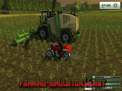 Мод ИЖ Планета 5К для Farming Simulator 2014