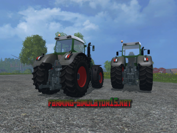Мод Fendt 936 Vario Pack V 1.0 для Farming Simulator 2015