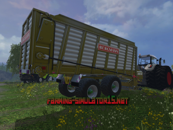 Мод Bergmann CAREX 88 SY V 1.1 для Farming Simulator 2015