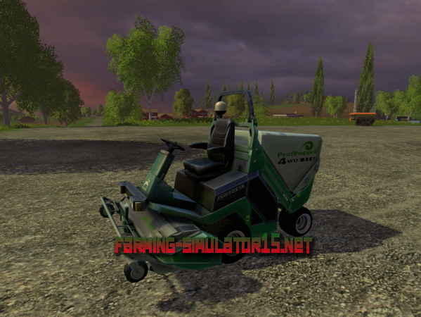 Мод Amazone Profi Hopper V 2.2 - Косилка травы для Farming Simulator 2015