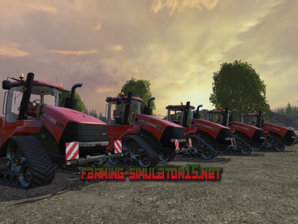 Мод Трактора Case IH Quadtrac Pack V 1.1 для Farming Simulator 2015