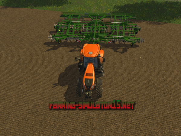 Мод John Deere Egge v 1.0 - Раскладывающийся культиватор для Farming Simulator 2015
